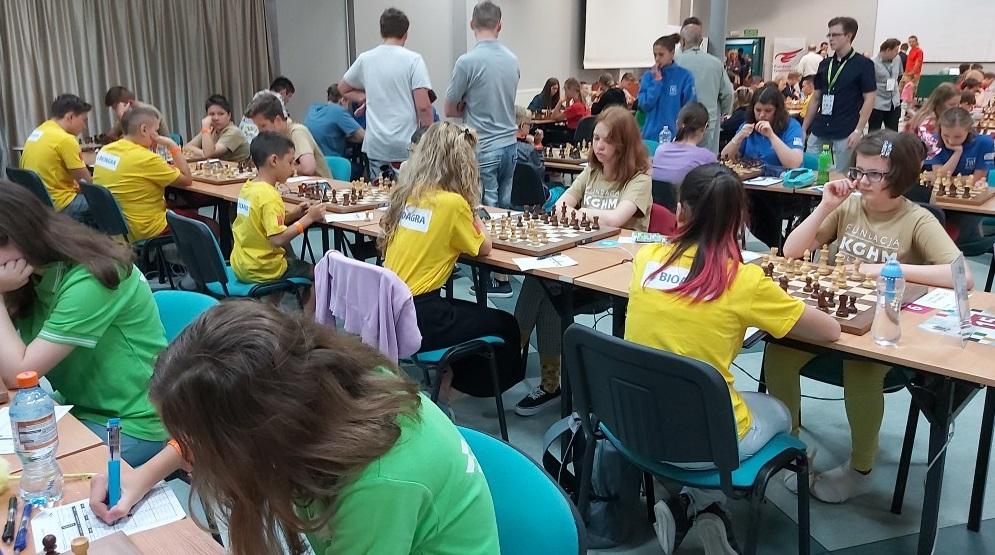 1. runda wygrana 5:1 z UKS Gekon Nysa